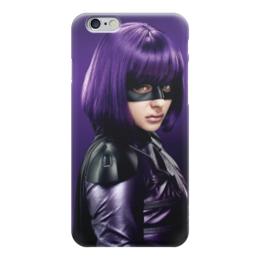 """Чехол для iPhone 6 """"Убивашка"""" - hit-girl, убивашка, минди маккриди"""