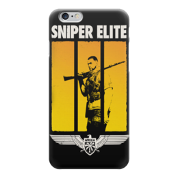 "Чехол для iPhone 6 ""Sniper"" - sniper, снайпер, убийца, киллер, headshot"