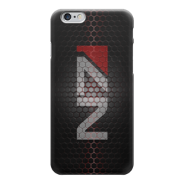 "Чехол для iPhone 6 ""N7 (Mass Effect)"" - mass effect, n7, масс эффект, ме"