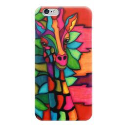 """Чехол для iPhone 6 """"Жираф"""" - арт, животные, красота, жираф, животный мир"""