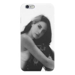 "Чехол для iPhone 6 глянцевый ""Lana Del Rey"" - lana del rey, lana, лана, лана дель рей"