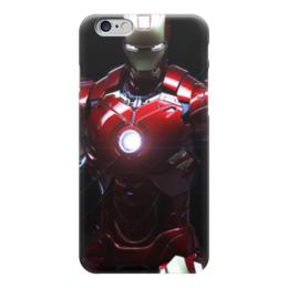 """Чехол для iPhone 6 """"iron man"""" - комиксы, marvel, железный человек, iron man, марвэл"""