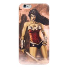 "Чехол для iPhone 6 ""Чудо-Женщина (Wonder Woman)"" - диана, амазонка, чудо-женщина, wonder woman, diana"