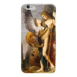 """Чехол для iPhone 6 """"Эдип и сфинкс (Гюстав Моро)"""" - сюрреализм, миф, лувр, моро"""