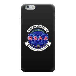 """Чехол для iPhone 6 """"Resident Evil. BSAA"""" - zombie, resident evil, biohazard, resident, bsaa"""