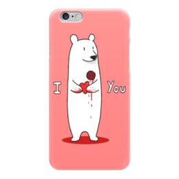 "Чехол для iPhone 6 ""Happy Valentine's Day"" - любовь, love, с днём святого валентина, валентинки, happy valentine's day"