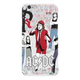 "Чехол для iPhone 6 ""AC/DC "" - heavy metal, ac dc, ac-dc, эйси диси, хеви метал"