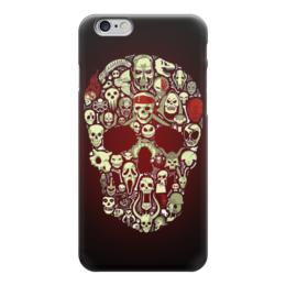 "Чехол для iPhone 6 ""Skull Art"" - skull, череп, арт, черепа, skulls"