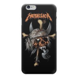 "Чехол для iPhone 6 глянцевый ""Metallica"" - heavy metal, рок музыка, металлика, metallica, thrash metal"