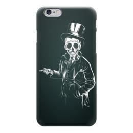 "Чехол для iPhone 6 ""Олдскульный Скелет"" - череп, арт, скелет, олд скул, old school"