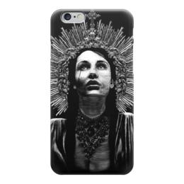 """Чехол для iPhone 6 """"Святая слеза"""" - девушка, религия, церковь, икона"""
