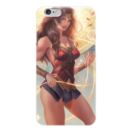 "Чехол для iPhone 6 ""Чудо-Женщина (Wonder Woman)"" - комиксы, dc comics, чудо-женщина, wonder woman, batman vs superman"