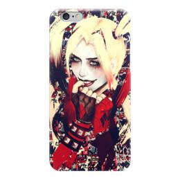"Чехол для iPhone 6 ""Харли Квинн / Harley Quinn"" - рисунок, джокер, кино, бэтмен, харли"