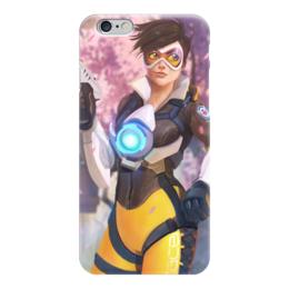 "Чехол для iPhone 6 ""Трейсер"" - blizzard, близзард, overwatch, овервотч, tracer"