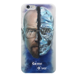 "Чехол для iPhone 6 ""Во все тяжкие (Breaking Bad)"" - во все тяжкие, лед, хайзенберг, гайзенберг, game over"