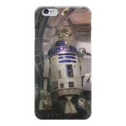 "Чехол для iPhone 6 глянцевый ""Звездные войны - R2-D2"" - звездные войны, фантастика, кино, дарт вейдер, star wars"