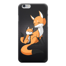 "Чехол для iPhone 6 ""Лисички (fox)"" - fox, лиса"