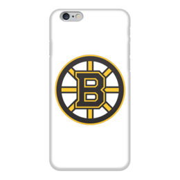 "Чехол для iPhone 6 ""Boston Bruins"" - медведь, хоккей, nhl, бостон, boston bruins"
