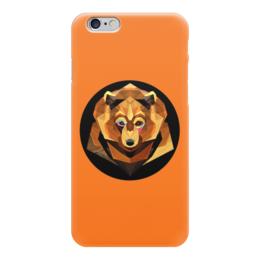 """Чехол для iPhone 6 """"Бурый медведь"""" - медведь, мишка, бурый"""