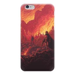 "Чехол для iPhone 6 глянцевый ""Звездные войны"" - звездные войны, фантастика, кино, дарт вейдер, star wars"