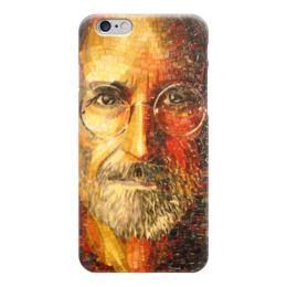 """Чехол для iPhone 6 """"Великий и гениальный"""" - арт, айфон, стив джобс, aplle"""