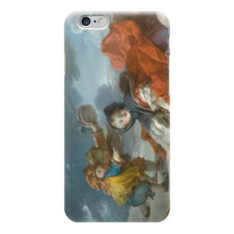 "Чехол для iPhone 6 ""Зима (Картина Фрагонара)"" - картина, фрагонар"