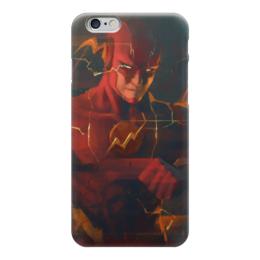 "Чехол для iPhone 6 ""Флэш (Flash)"" - flash, комиксы, dc comics, флэш"