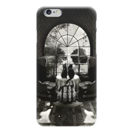 "Чехол для iPhone 6 ""skull house"" - череп, готика, кот, коты, котики"