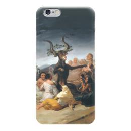 "Чехол для iPhone 6 ""Шабаш ведьм (Witches Sabbath)"" - картина, гойя"