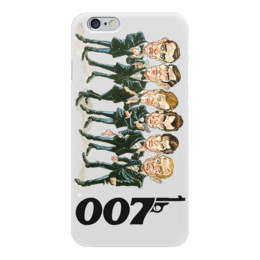 "Чехол для iPhone 6 ""James Bond"" - 007, james bond, агент 007, актёр, джеймс бонд"