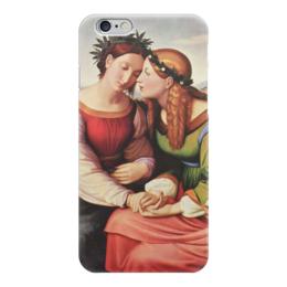"""Чехол для iPhone 6 """"Италия и Германия"""" - картина, овербек"""