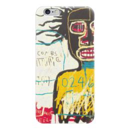 """Чехол для iPhone 6 """"Basquiat"""" - граффити, корона, basquiat, баския, жан-мишель баския"""
