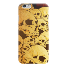 "Чехол для iPhone 6 ""Черепа"" - skull, череп, sticker, наклейка"