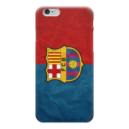 "Чехол для iPhone 6 глянцевый ""Барселона (Барса)"" - футбол, football, fcb, barcelona, барселона"