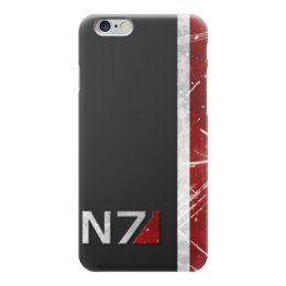 "Чехол для iPhone 6 ""N7 (Mass Effect)"" - me, mass effect, n7, масс эффект"