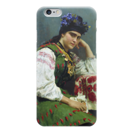 """Чехол для iPhone 6 """"Портрет Софьи Драгомировой"""" - картина, серов"""