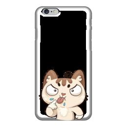 "Чехол для iPhone 6 ""Кот Бу"" - кот, стикер"