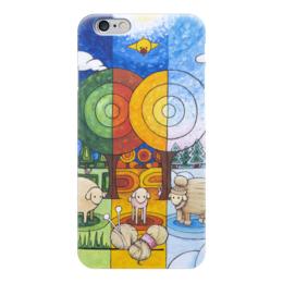 "Чехол для iPhone 6 ""Lollypups #22 (Mastercard) "" - арт, зима, осень, овечка, мастеркард"