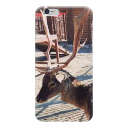 "Чехол для iPhone 6 ""Олень"" - олень, рога, deer, antlers"