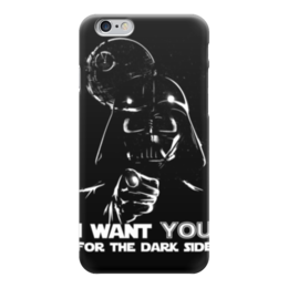 """Чехол для iPhone 6 глянцевый """"Дарт Вейдер (Звездные Войны)"""" - дарт вейдер, darth vader, star wars, dark side, звездные войны"""