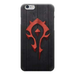 "Чехол для iPhone 6 ""Знак орды (Варкрафт)"" - wow, world of warcraft, знак орды"