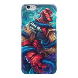 """Чехол для iPhone 6 """"Хеллбой"""" - комиксы, демон, hellboy, dark horse comics"""