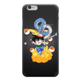 "Чехол для iPhone 6 глянцевый ""Жемчуг дракона (Покемон)"" - pokemon, покемон, жемчуг дракона, dragon ball"