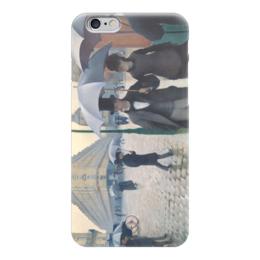 """Чехол для iPhone 6 """"Парижская улица в дождливую погоду"""" - картина, кайботт"""
