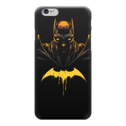 "Чехол для iPhone 6 ""БЭТМЕН!!!"" - комикс, batman, бэтмен, тёмный рыцарь, готем"