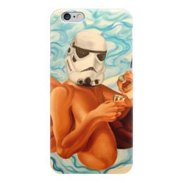 """Чехол для iPhone 6 глянцевый """"Star Wars """" - арт, фантастика, star wars, звёздные войны, бойл"""