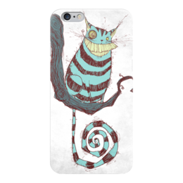 "Чехол для iPhone 6 ""Comics Art Series"" - кот, рисунок, алиса в стране чудес, alice in wonderland"