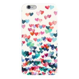 """Чехол для iPhone 6 """"Сердечки"""" - любовь, love, 14 февраля, сердечки, hearts"""