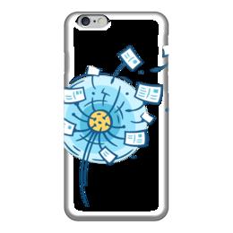 """Чехол для iPhone 6 глянцевый """"Postcrossing"""" - postcrossing, посткроссинг, почтовые открытки"""