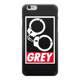 """Чехол для iPhone 6 """"50 оттенков серого (Fifty Shades of Grey)"""" - grey, fifty shades of grey, пятьдесят оттенков серого"""